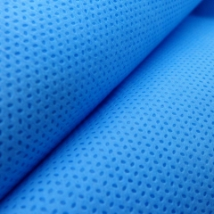 Blue nonwoven SMS fabric