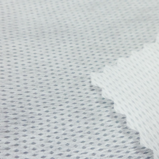 Single layer elastic non woven fabric